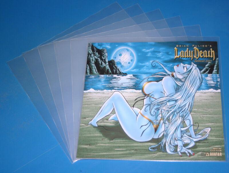 50 LP Cover Schutzhüllen 12