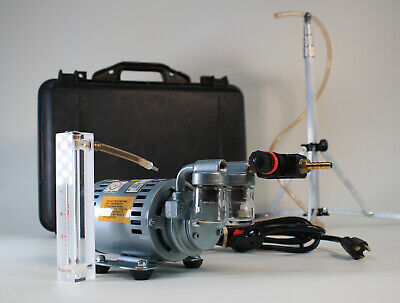 Allegro Air Sampling Kit W Gast Rotary Vane Vacuum Pump 1531-107d-g557x.