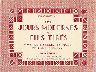 Handarbeit-Collection J.S.-Les Jours Modernes a Fils Tires-Album Nr.1