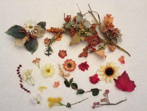 Millinery Flower Lot, Vintage, for Hats or crafts