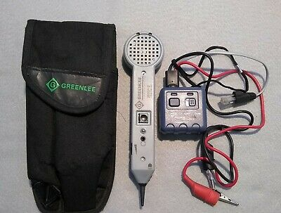 Greenlee Tone Probe 200ep-g And Fluke Networks Pro3000 Tone Generator W Pouch