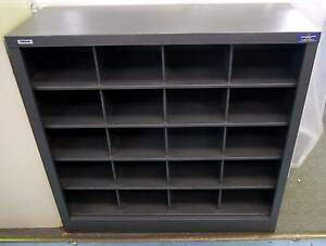 New Office Pigeon Hole Unit Mail Sorting Cabinet 20 Compartments Melbourne CBD Melbourne City Preview