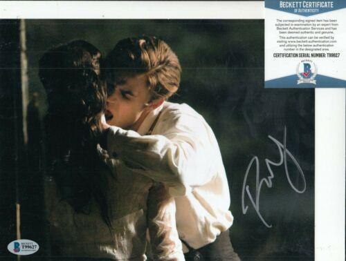 PAUL WESLEY signed *THE VAMPIRE DIARIES* 8X10 (Stefan Salvatore) BECKETT T99627