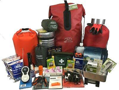 Person Evacuation Bug Out Grab Bag, Survival Kit Go Bag (Grab Bag Co)