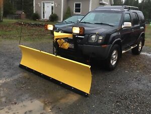 04 Nissan Xterra with plow!