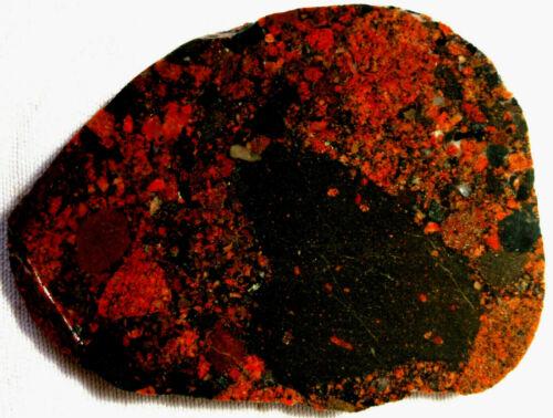Black Pudding Stone Slab - 250 Grams - Michigan - Puddingstone