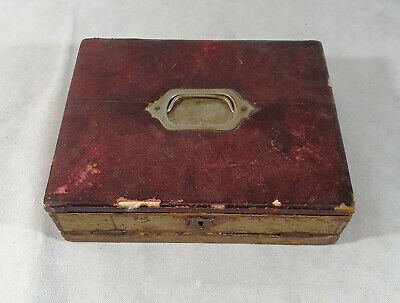 Vintage/Antique Writers Box, Writing Slope, Ink Well, Stationery Box,Collectable