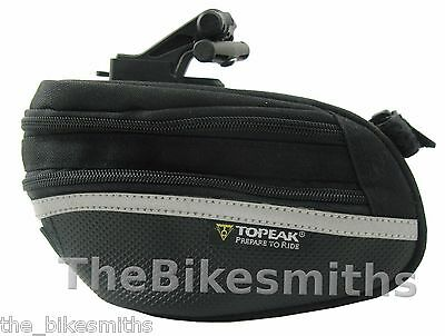 Topeak Large Wedge Pack II Bicycle Saddle Bag w/ Quick Relea