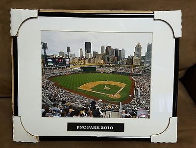 Pittsburgh Pirates PNC Park 2010 Photo in Matted Frame (Pnc Park Framed)