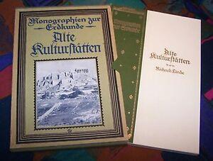 Monographien zur Erdkunde 31 - Alte Kulturstätten - Syrien Ägypten Palästina ...