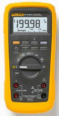 Fluke 87v-max Industrial True Rms Heavy Duty Mulitmeter