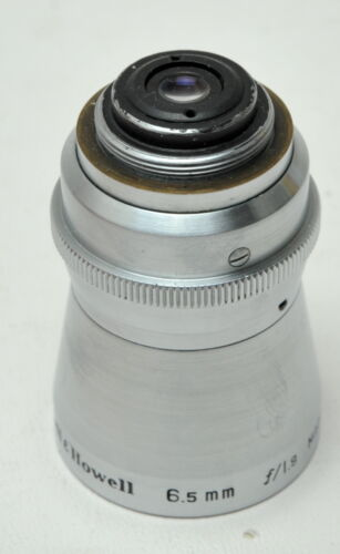 BELL & HOWELL  6.5MM F1.9  -  8 mm Movie lens