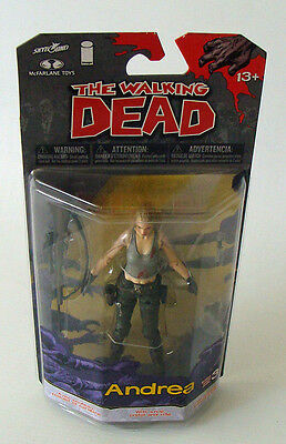 The Walking Dead Series 3 - Andrea 12 cm Figur McFarlane13+ - Neu