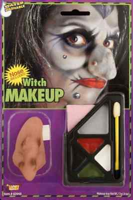 Witch Makeup Kit Nose Included & Instructions Halloween Costume Accessory