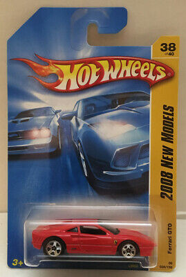 Hotwheels 2008 New Models - Ferrari GTO Red 38/40