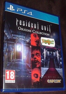 Resident Evil Origins Collection Playstation 4 PS4 NEW SEALED FREE UK p&p