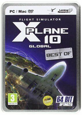 Flight Simulator X-Plane 10 Global Best Of PC/Mac (Best Airplane Simulator For Mac)