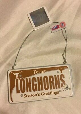 Texas Longhorns Christmas Ornament (Forever Collectable: Officially Licensed Texas Longhorns Christmas Ornament)