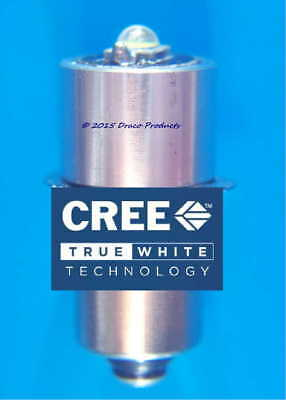 Cree LED 5W Bulb for MAGLITE® 2-Cell 3V Flashlights 2.7-3.3V Replace old Krypton