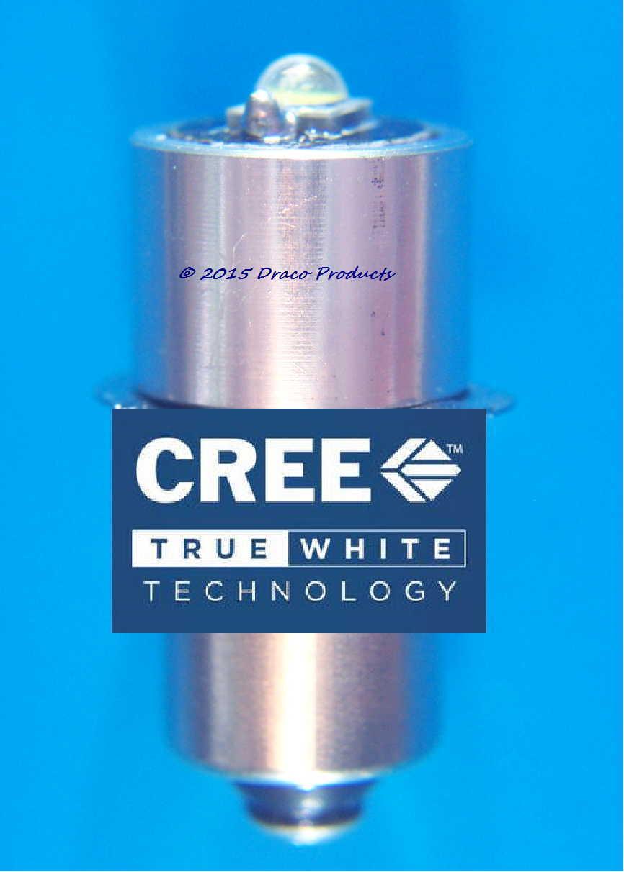 Cree LED 5W Bulb Replacement for Lumilite LZ2 Xenon 2.4V Gas