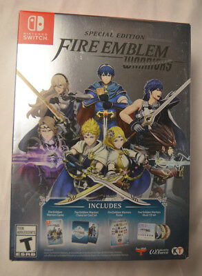 Fire Emblem Warriors Special Edition Nintendo Switch New Factory Sealed