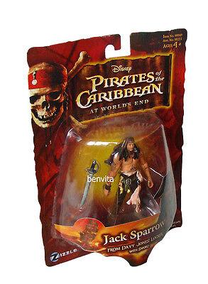 Fluch der Karibik Jack Sparrow from Davy Jones Locker 9,5 cm Figur Zizzle 4+ Neu