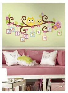 Baby room wall decals
