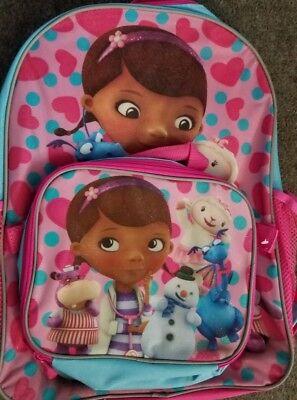 Disney Junior Doc Mc Stuffin Backpack w/ Matching Lunch Box New 2015](Doc Stuffin)