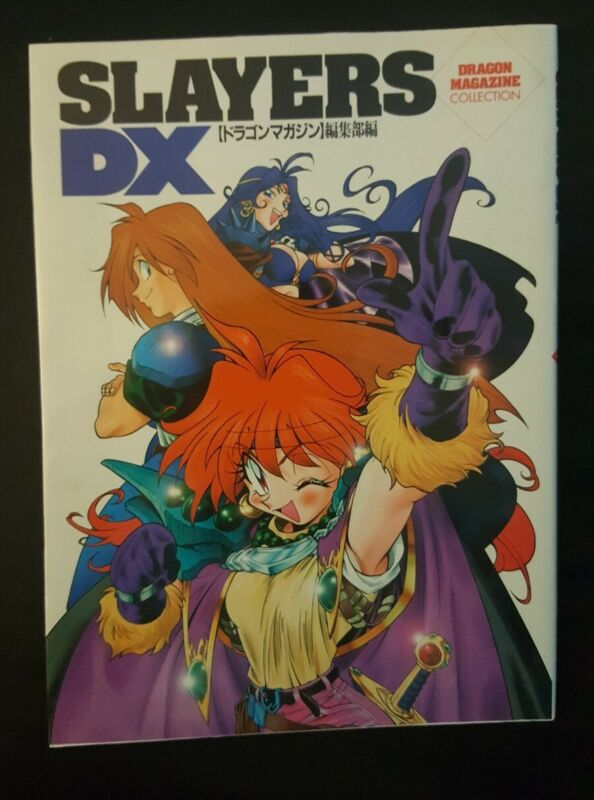 """Slayers Official Book """"Slayers DX"""" DRAGON MAGAZINE COLLECTION Japan 4829172797"""