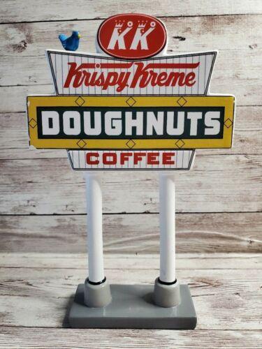 Dept. 56 Original Snow Village Krispy Kreme Doughnut Shop Sign ONLY