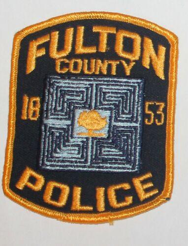FULTON COUNTY POLICE Georgia GA PD patch