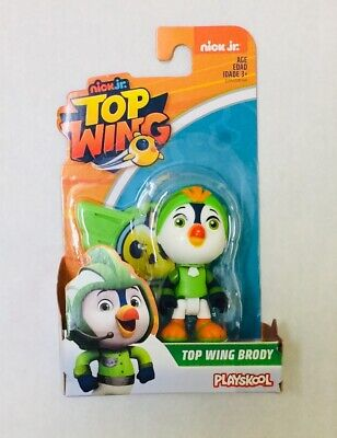 NIB Playskool Nick Jr, Top Wing Brody Single Figure Toy - Green