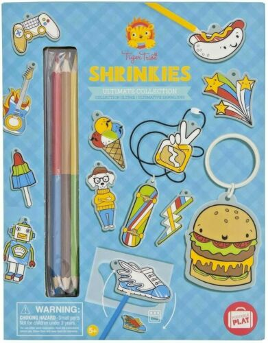 Schylling Shrinkies Ultimate Collection (Tiger Tribe)  - Craft Kit - NEW SEALED