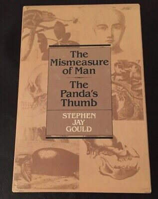 The Mismeasure of Man and The Panda's Thumb by Stephen Jay Gould -2 Vol. Box