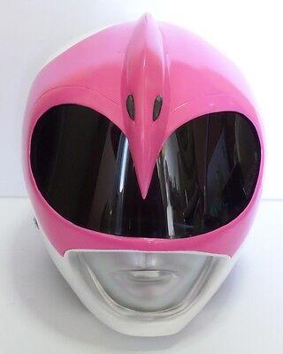 Pink Power Ranger Helmet (Super Ranger - Hero Power Man Costume Helmet - Color:)