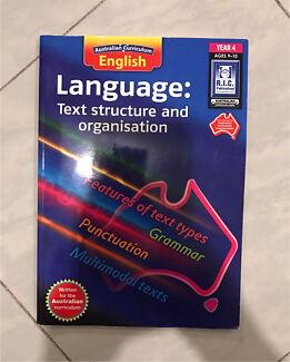 Year 4 Language book