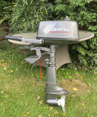 Tohatsu 5hp 2 Stroke Outboard Motor - Very Light Use