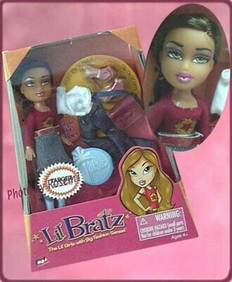 2004 lil BRATZ mini TALIA MIX N MATCH FASHIONS TARGET EXCLUSIVE doll
