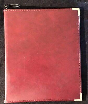 Stafford Zippered Executive Notebook Portfolio