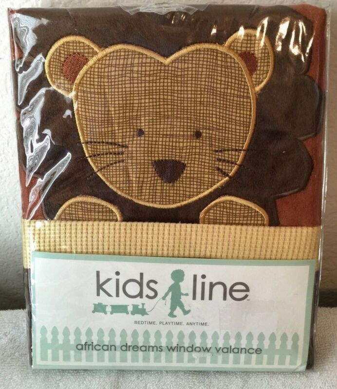 Kids Line African Dreams Window Valance
