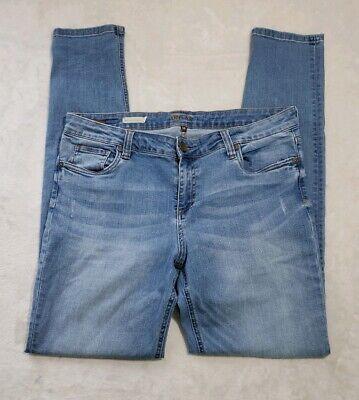 KUT FROM THE KLOTH Mia Toothpick Skinny Light Wash Stretch Jeans Women's Sz 14