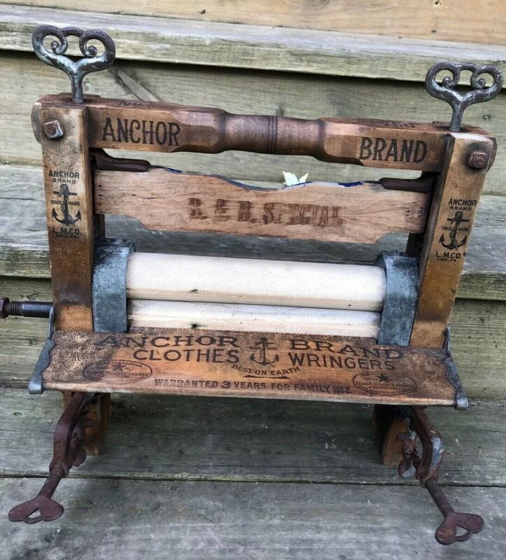 Antique Anchor Brand No760 BOGGS & BUHL Wringer Washer ( No Crank) B&B Special