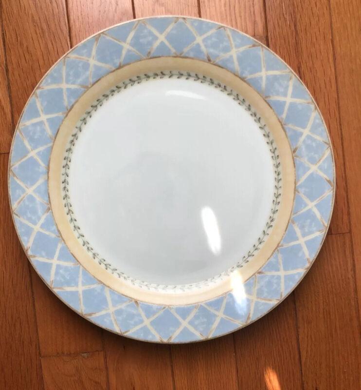 SET OF 8 DINNER PLATES ENCHANTED GARDEN  - HERITAGE MINT - Will Break Up Set