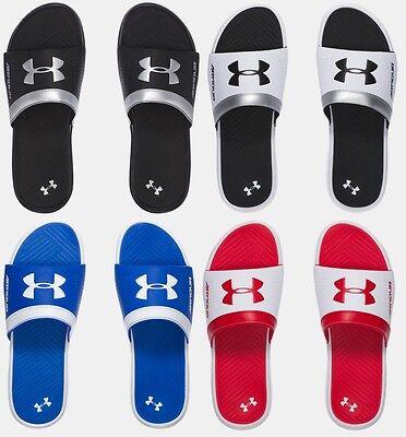 Under Armour Men's Ua Playmaker Vi Slides Sandals Many Sizes