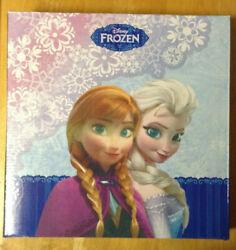 Disney FROZEN WALL CLOCK 30x30x4 cm New in Box Elsa Anna Olaf Kristoff Sven
