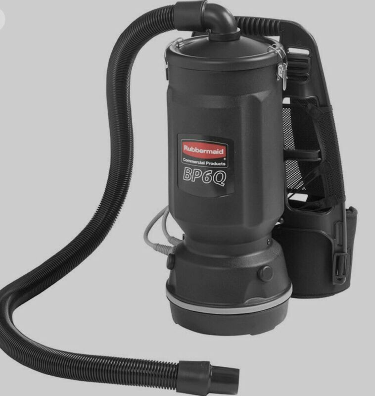 Rubbermaid 1868433 6-qt Executive Backpack Vacuum Cleaner