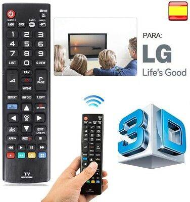 Mando a distancia LG para LCD LED-4K SMART TV NO REQUIERE PROGRAMACIÓN