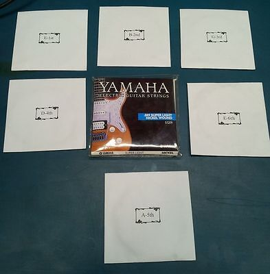 Yamaha Electric Guitar Strings 009 Super Light Nickel Wound