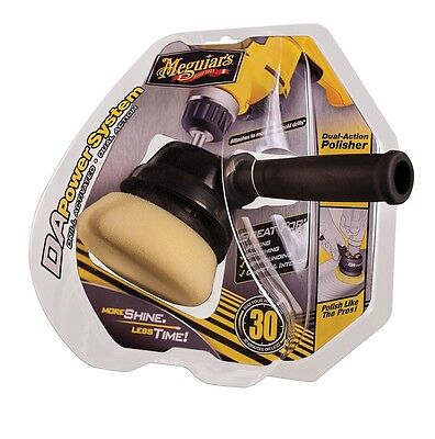 Meguiars DA PowerSystem Drill Activated Dual Action Polisher Wax Polish Compound for sale  Escondido