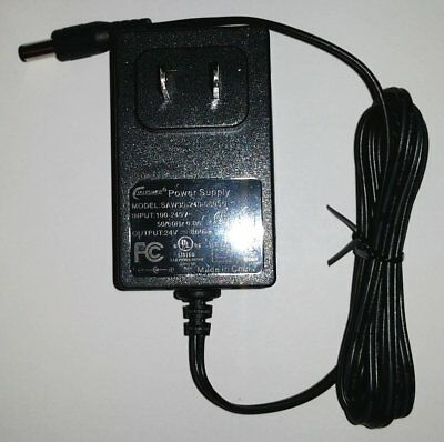 24V DC Output AC Adapter Power Supply  800 ma Wall Wart Charger  UL Listed